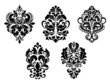 Foliate and floral design elements