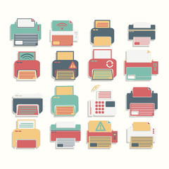 Icon Color Printer set