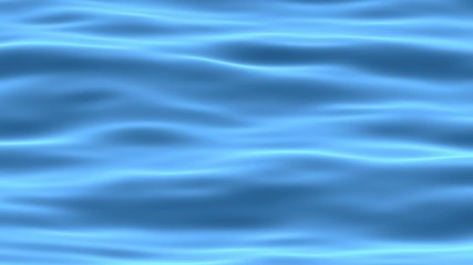 Blue abstract water surface animated background