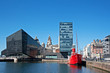 View of Liverpool's historic waterfront
