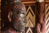 detail of Maori carving - 64305368