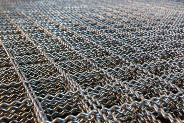Steel Metal mesh.