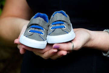 Little Shoes For The Baby Boy