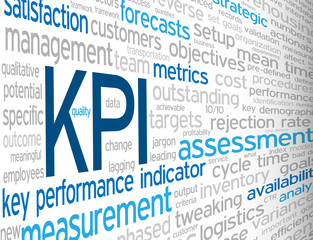 """KPI"" Tag Cloud (key performance indicator metrics targets data)"