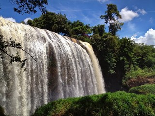 The Famous Elephant Falls, Central Highlands, Dalat, Vietnam