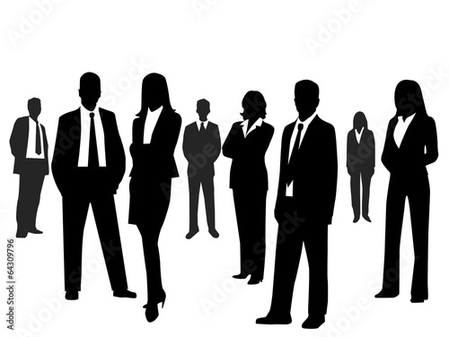 Business people - 64309796
