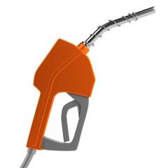 realistic 3d render of gas pump