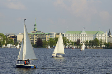 Aussenalster in Hamburg
