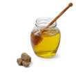honey and honey spoon