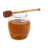honey and honey spoon.