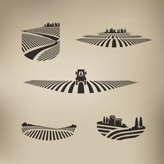 Harvest. Vector format