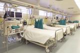 Fototapety Hospital emergency room with gurneys