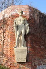 Das Kriegerdenkmal auf dem Grazer Schloßberg beim Uhrturm