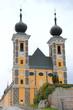 canvas print picture - Die Wallfahrtskirche Frauenberg in Ardning bei Admont