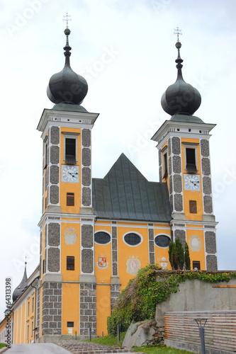 canvas print picture Die Wallfahrtskirche Frauenberg in Ardning bei Admont
