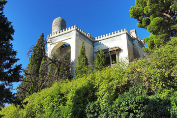 Villa in Moorish style in Simeiz, Crimea