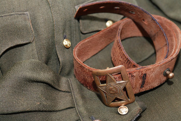 Soviet Officer Belt