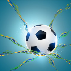absract soccer background
