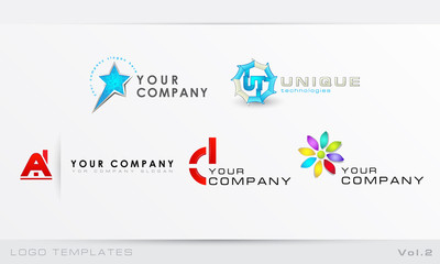 Logo templates Vol.2