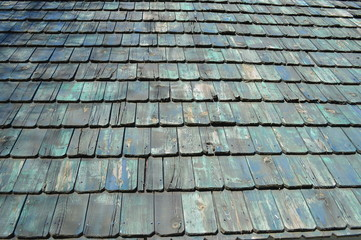 Wooden Shingle Background