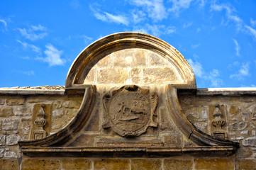 Úbeda, Andalucía, relieve de la fundación de la plaza de toros