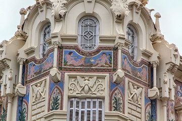 beautiful old building with beautiful details