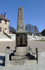 Monument aux morts d'Affieux.