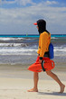 canvas print picture - rettungsschwimmer auf mallorca