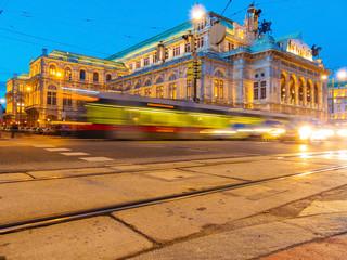 Wien. Österreich. Oper