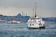Passenger ships in the Gulf of the Golden Horn, Istanbul