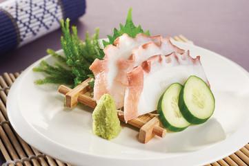sashimi squid