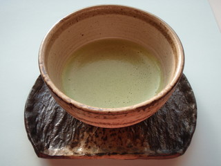 maccha  (green tea)