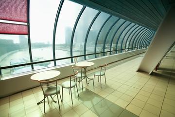 cafe in the glazed bridge
