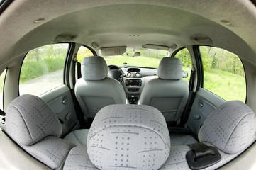 intérieur d' un véhicule automobile