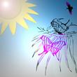 Papillons sous le soleil
