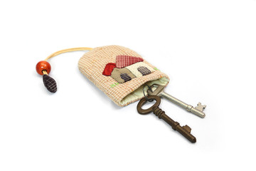 Bunch patchwork with Old Key