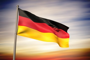 Composite image of germany national flag
