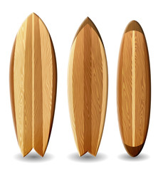 Set of surfboards