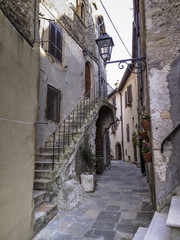 italy, tuscany, Capalbio, view of the old part of town