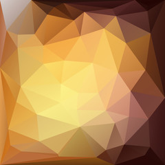 gold abstract triangles background