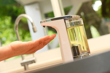 Hand wash-Automatic soap dispenser
