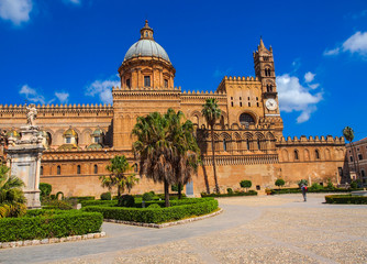 The Cathedral of Palermo, Sicily, Italy