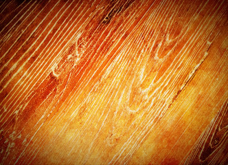 Warm orange wood background