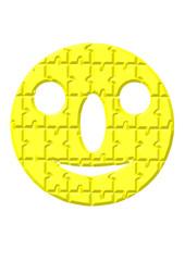 sarı gülen yüz