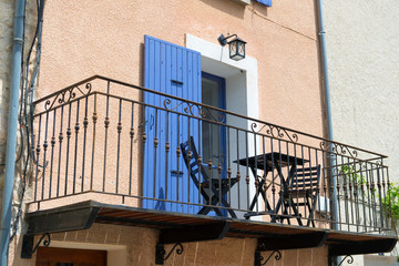 French balcony