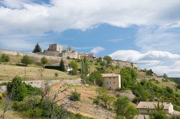 Village Vercoiran in France