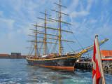 George Stage ship in Copenhagen Danmark poster