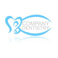 логотип зуб B