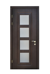 brown interior door
