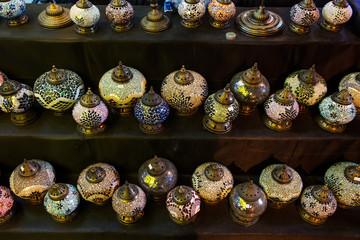 Esposizione lampade turche